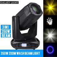 350W 17R Beam Spot Wash 3in1 Moving Head Light Beam 350w 17R Linear ZOOM Moving Head Disco DJ Stage Light for professional event