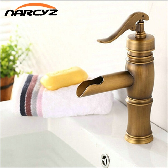New Arrival Fashion Bathroom Faucet Copper Basin Mixer Water Tap Top ...