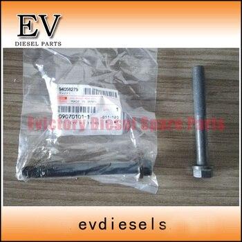 Para Isuzu 4BD1 4BG1 6BD1 6BG1 cilindro perno de cabeza 1-09070101-1