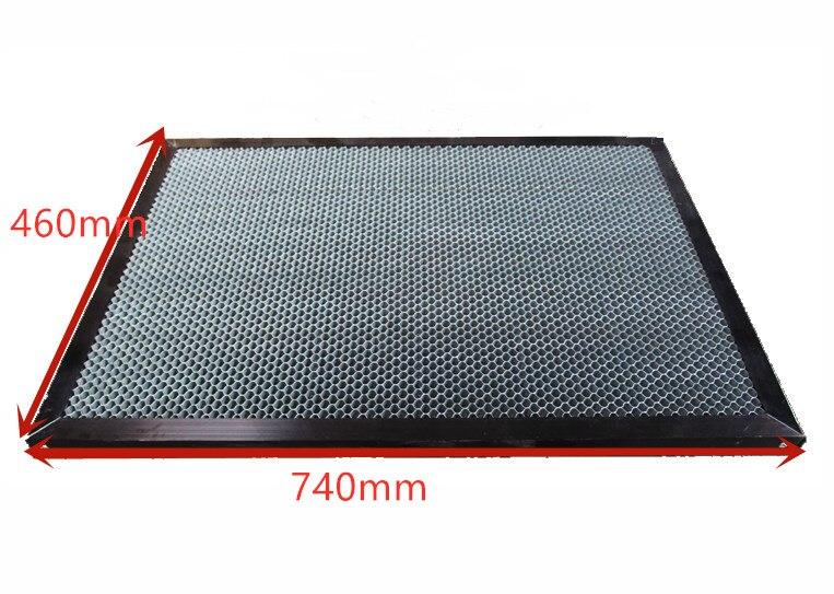 740mm X 460mm With Frame Panel Laser Engraving Cutting Machine Honeycomb Platform Fabric 4070 Platform Honeycomb Laser Table