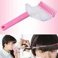 Moda flequillo Clip de corte de pelo peine del pelo del flequillo tijeras herramientas de peinado A2