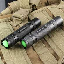 Convoy S2+Aluminum alloy Grey XM-L2 7135×8 3/5Modes EDC LED Flashlight Torch by 18650 battery For Camping Hiking