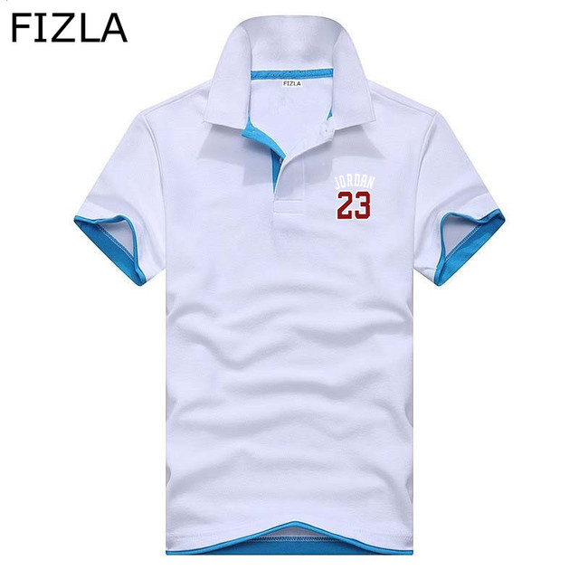 c1e1a99e3a3 Polo fashion Jordan 23 Polo Shirt Summer Boutique Business Casual Camisa  Polo men women Hip-hop 23 Jordan Swag Polo homme 2018