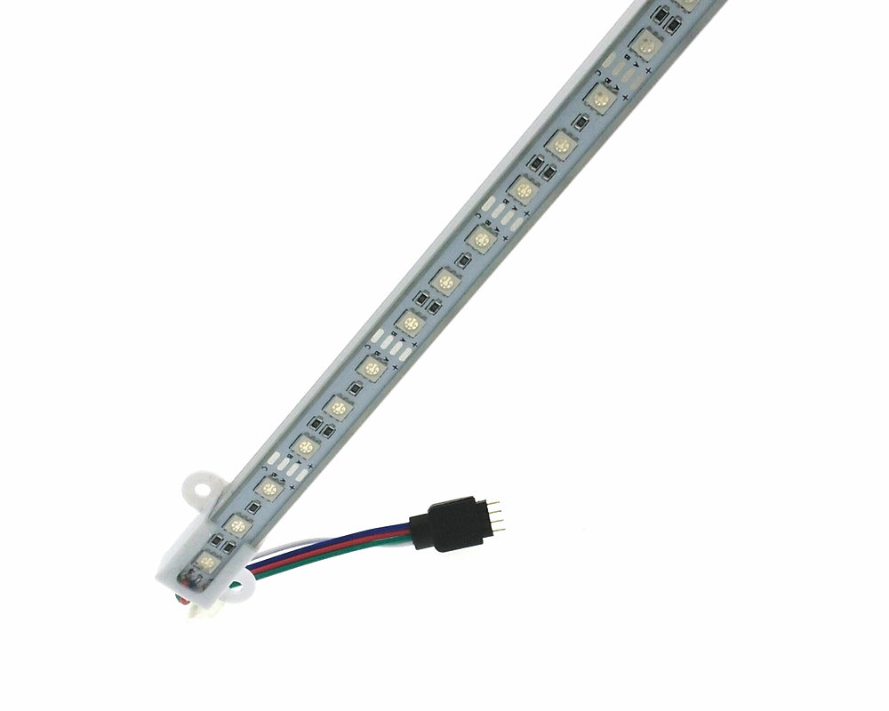 LED Bar Lights 5050 RGB 50cm waterproof SMD36LED RGB LED Rigid Strip Swimming Pool 12V