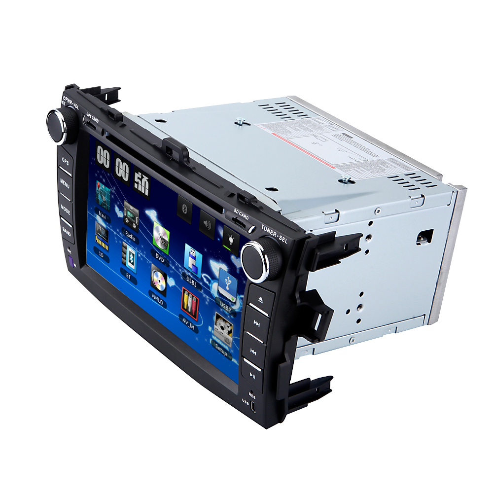 2 din 8 inch Car DVD Car GPS for Toyota corolla 2007 2008 2009 2010 2011 With Radio audio DVD player GPS 3G USB ATV BLUETOOTH SD professional 6 2 inch 6201a audio dvd sb sd bluetooth 2 din car cd player with automatic memory play car dvd player