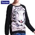 Women Hoodies Sweatshirts Women 3D Animal Printed Felpa Donna Long Sleeve Sudaderas Mujer Outerwear Sweat Femme Tops Tee Clothes