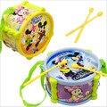 De dibujos animados bebé pat hitter tambor plástico para música instrumental juguetes / Kids niños aprendizaje temprano Orff juguetes educativos, envío gratis