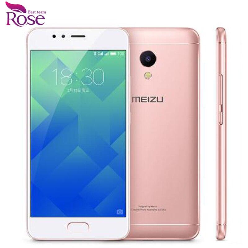 Original MEIZU M5S MTK6753 Global firmware 3GB RAM 16GB ROM Mobile Phone 5.2 HD IPS 13.0mp Fingerprint ID phone