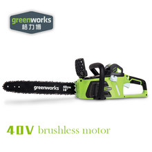Greenworks 40v Cordless Chain Saw Brushless motor 20312 Chainsaw ,not including battery and charger(China)