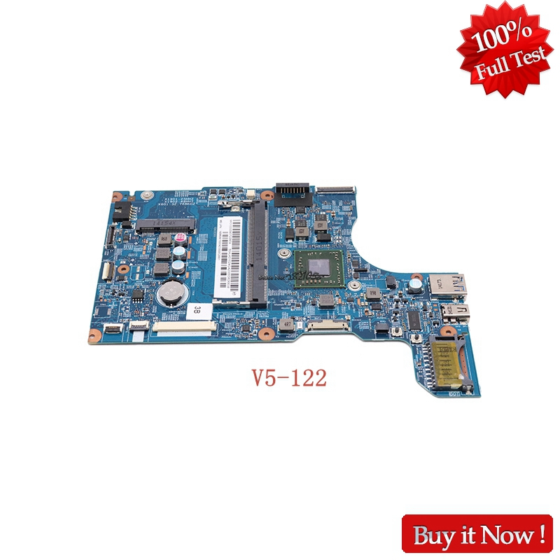 Nokotion NBM8W11001 NBM8W11005 NB.M8W11.005 For acer Aspire V5-122 48.4LK01.011 laptop motherboard With A6-1450 CPU onboard nokotion nbm7x11001 nb m7x11 001 for acer aspire v5 531 v5 431 laptop motherboard 48 4tu05 04m pentium 987 cpu onboard