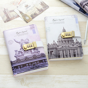 Image 2 - New Personal Diary Notebook with lock code Business A5 thick Notepad Daily Memos Office school supplies gift