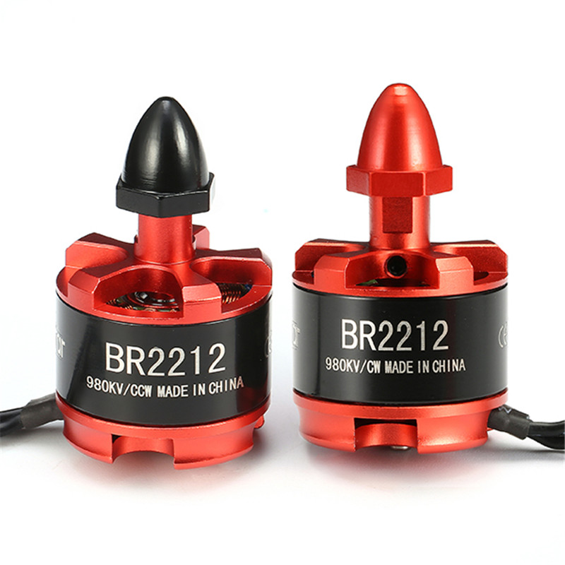 Nueva llegada Racerstar Racing Edition 2212 BR2212 980KV 2-4 s Motor sin escobillas para 350 de 380 del 400 de