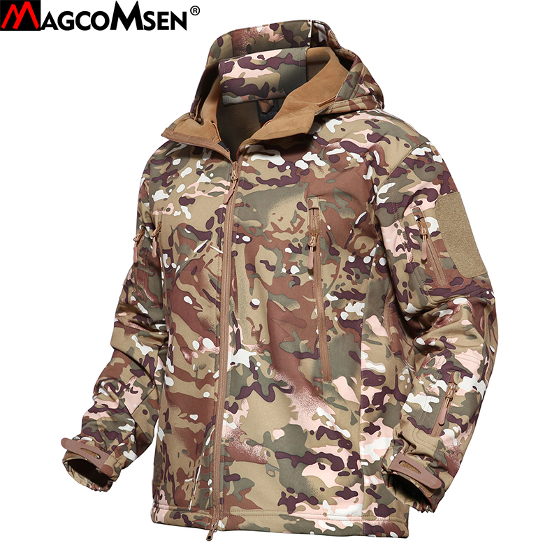 New Winter Camouflage Men Warm Jacket Parka Brand Clothing Mens Fashion Jackets Casual Fur Collar Coat