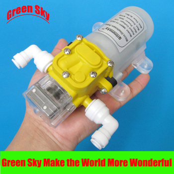high quality 4L/Min 12V DC 30W water purifier pressurizer automatic water booster pump