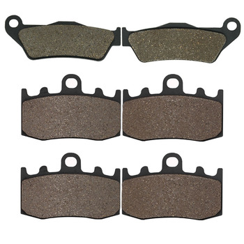 Cyleto Motorcycle Front and Rear Brake Pads for BMW HP2 Megamoto 2007 2008 K1200S K 1200S K 1200 S 2005 2006 2007 2008 image