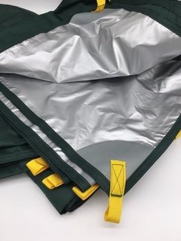 3F UL GEAR Ultralight Tarp Outdoor Camping Survival Sun Shelter Shade Awning Silver Coating Pergola Waterproof Beach Tent 2