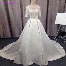 LCELAND POPPY A-line Wedding Dresses Floor Length