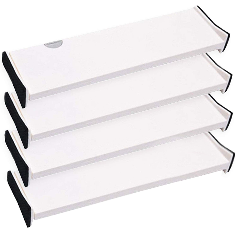 HOT 4-Drawer Storage Box And Divider, Organizing Silverware And Cutlery In The Home Kitchen, Clothes Divider In The Bedroom Dr