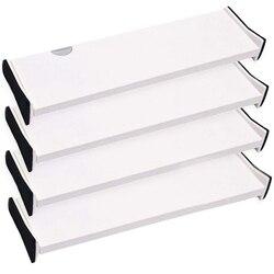 HOT 4-szuflada schowek pudełko i dzielnik  organizowanie sztućce i sztućce w domowej kuchni  ubrania dzielnik w sypialni Dr