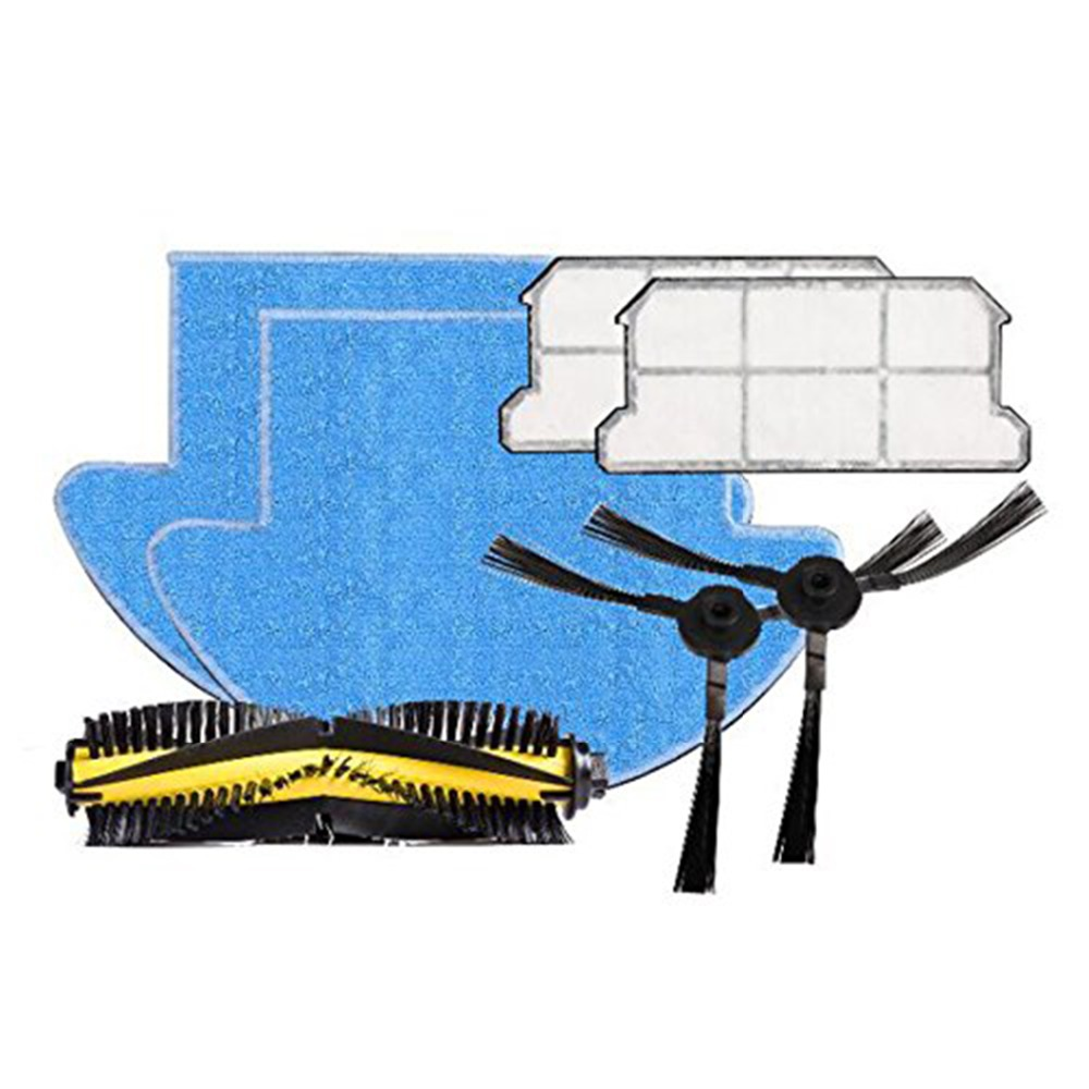 купить ILIFE V7s Pro Spare Replacement Kits with Filter Mop Cloth Slide Brush. по цене 2640.67 рублей
