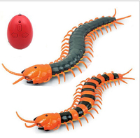 Novelty Fun Toys Radio Infrared Remote Control Machine Bionic Centipede Prank Funny Gadgets Toy