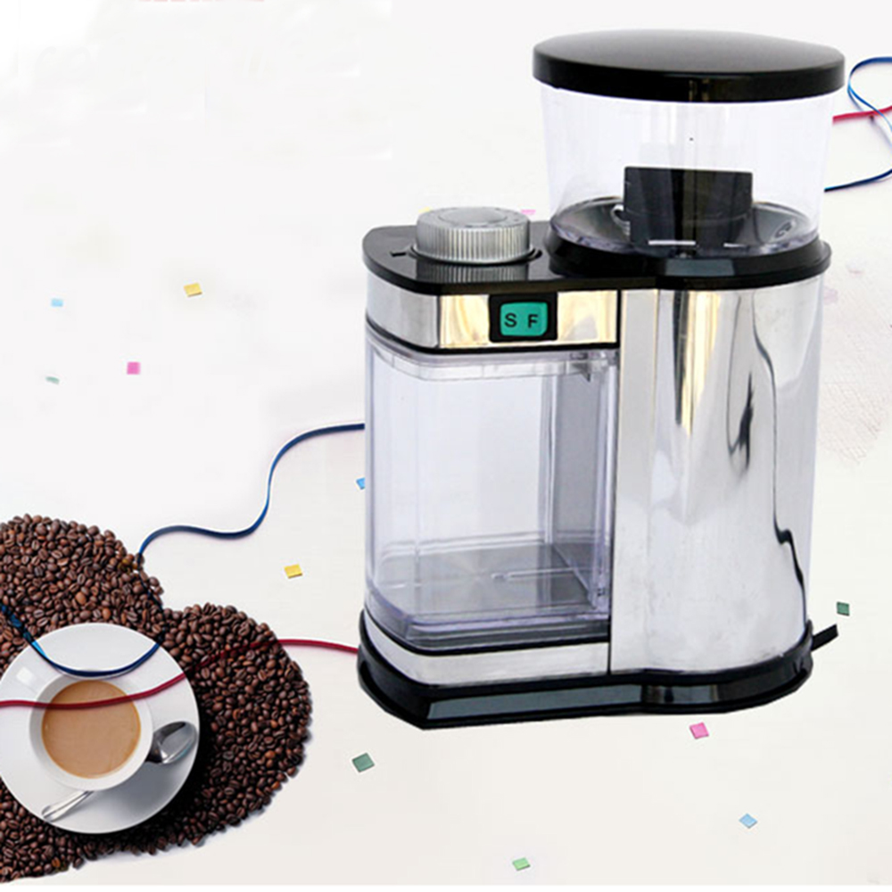 Vacuum Coffee Maker Grind Size : Professional Electric Coffee Burr Grinder with Grind Size and Cup Selection,Electric Spice and ...
