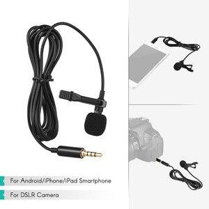 Image 5 - Andoer 1.45m מיני נייד מיקרופון הקבל קליפ על דש Lavalier מיקרופון Wired Mikrofo/Microfon עבור טלפון עבור מחשב נייד