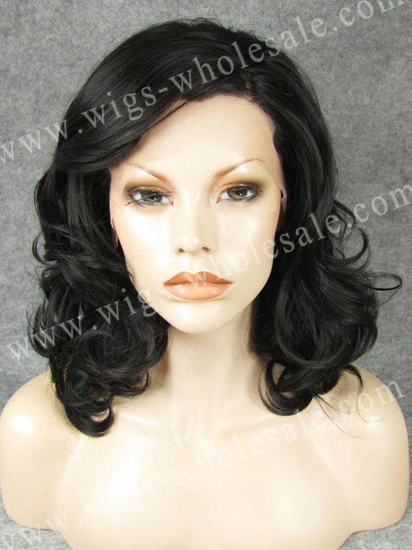 ФОТО synthetic micro braided lace front wigs brown  short curly synthetic wig
