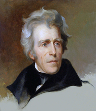 Andrew Jackson Portrait  oil painting work–100% HAND PAINTED PAINTING 36 inches -FREE SHIPPING COST