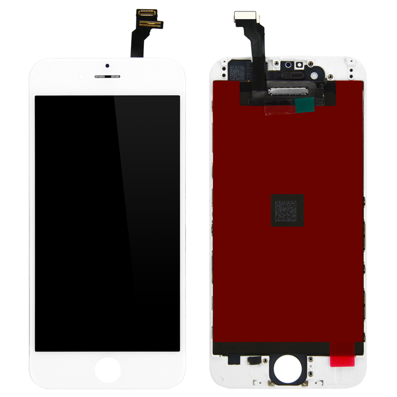 10PCS lot For iPhone 6 LCD Display Screen Touch Digitizer Assembly complete LCD with frame 3D