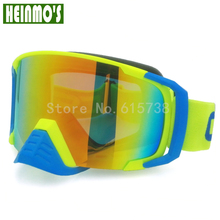 Motorcycle Protective Glasses Outdoor Sports Windproof Dustproof Eye Glasses Off-road Goggles with nose protection