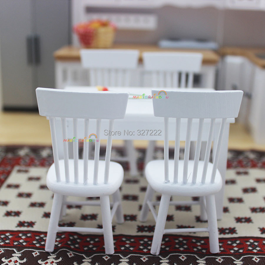 1 12 Scale Dollhouse Miniature Furniture Kitchen Wooden Toys Dining ...