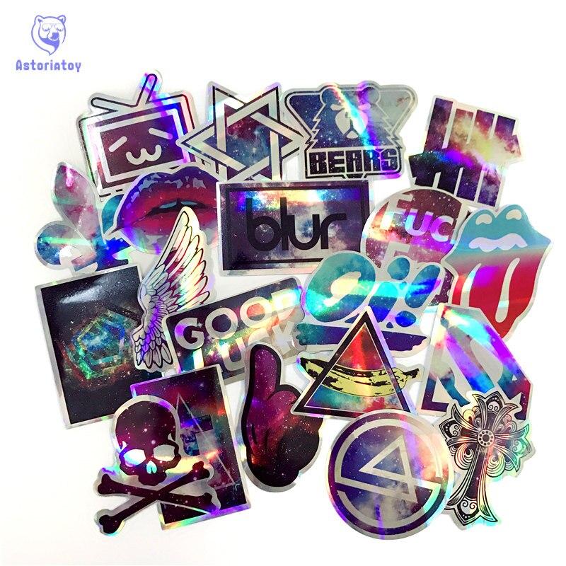 20st stjärnstil Linkin ParkThe Rolling Stones klistermärken - Klassiska leksaker