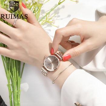 Ruimas Fashion Ladies Wrist Watch Relogio