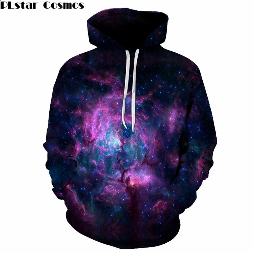 YX GIRL New Fashion Starry sky 3D Hoodie Men Women Clothing Tracksuit Pullover Hooded Sweatshirt dropship