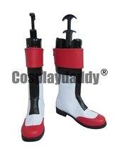 Casual Cosplay zapatos rojos
