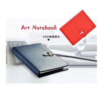 Kawaii 185 135mm Top Quality Pu Leather Cover A6 50 Sheets Business Agenda Diary Spiral
