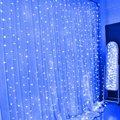 3 M * 3 M LED Luzes Da Janela Cortina Fada Cordas da lâmpada Ao Ar Livre Natal XMAS Party Festival Casa Fundo/Decoração da parede de Iluminação