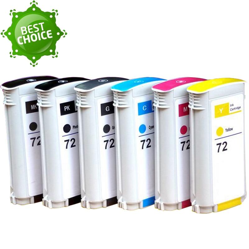 130MLX6 inchiostro 72 Cartuccia di Inchiostro Con Il Circuito Integrato di inchiostro Pieno Compatibile Per HP T610 T620 T770 T790 T1100 T1120 T1200 T1300 stampante