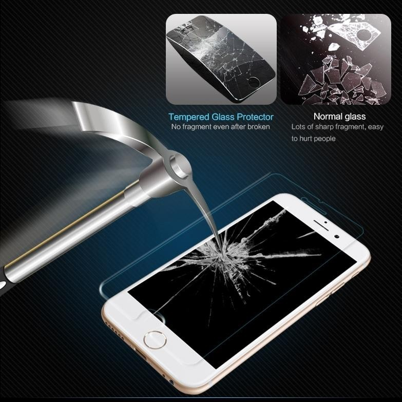wangcangli 2 pcs Lot Arc 0 26mm thickened tempered glass for iPhone6 6s screen protection film for iPhone 6 6s protective glass in Phone Screen Protectors from Cellphones Telecommunications