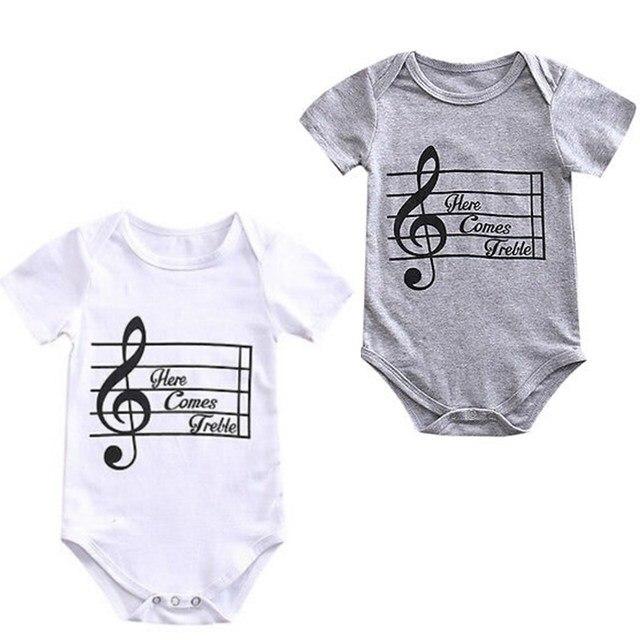 7a0e44d3d Cotton Newborn Infant Baby Boys Girls Kids Short Sleeve Romper ...