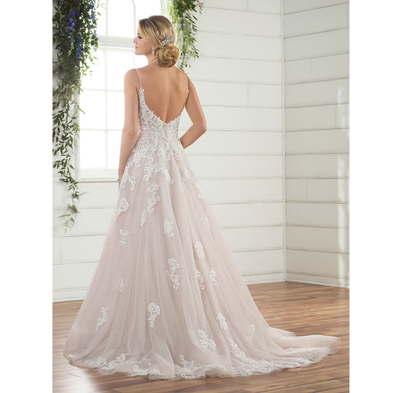 Princess Romatic Bride Dress Wedding Gowns