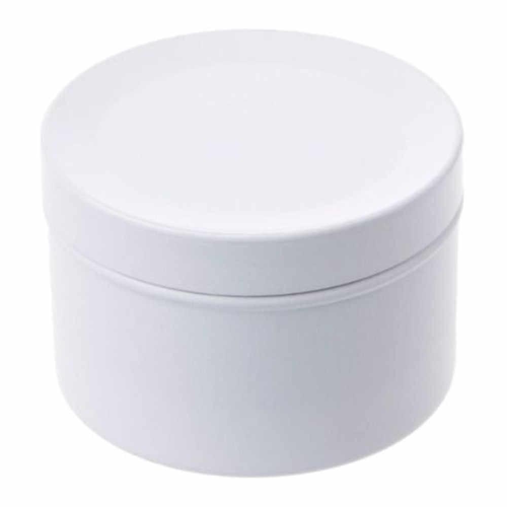 Мини Олово чайные конфеты печенье коробка для хранения печенья круглый металлический корпус сувенир для свадебной вечеринки Организатор Контейнер 50 мл бесплатная доставка