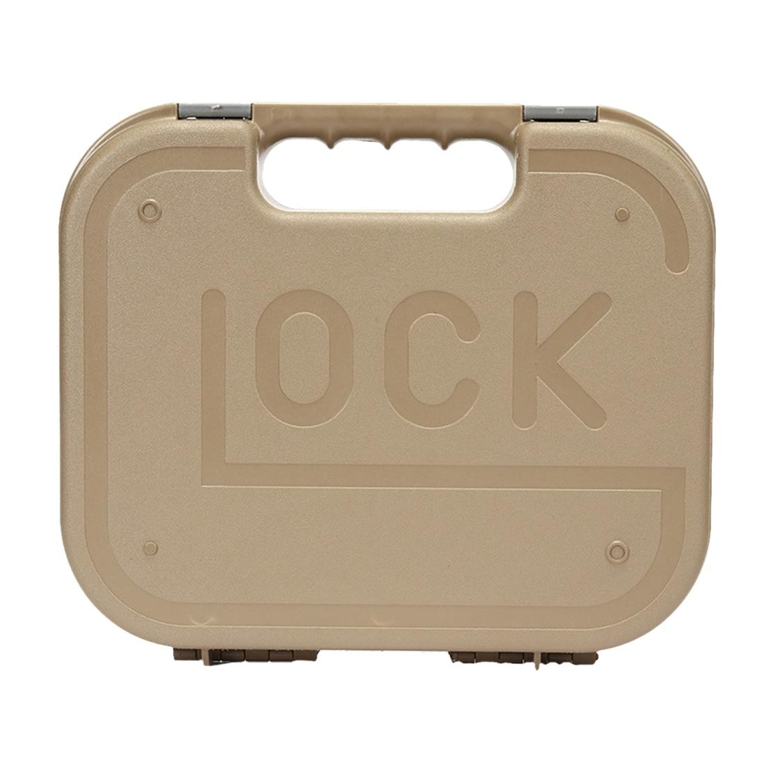 Mallette de rangement en plastique résistant à l'humidité pour boîte de sécurité en plastique pour Glock Mini perles de Gel d'eau Blaster extérieur modifié noir/Tan