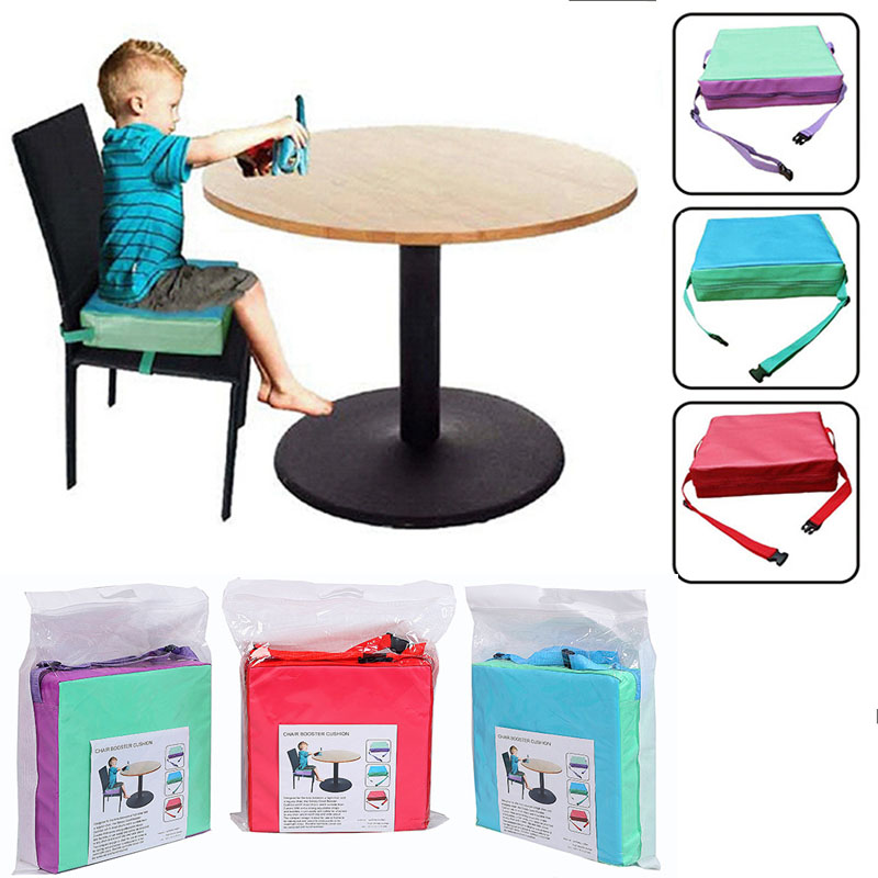 Children's Dining Chair Convenient Removable Baby Eating Increased Table And Chairs Cushion Folding Seat Maternal Child Supplies