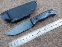 Newest Fox ADG Outdoor hunting knife fixed tactical knife D2 blade utility camping survival knife garden hand tool