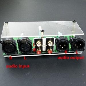 Image 1 - جديد متوازن تماما السلبي Preamp مجلس HiFi الصوت قبل مكبر للصوت XLR RCA وحدة تحكم في مستوى الصوت