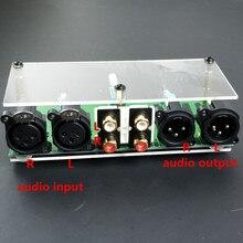 새로운 완전 밸런스드 패시브 프리 앰프 보드 hifi 오디오 프리 앰프 xlr rca 볼륨 컨트롤러