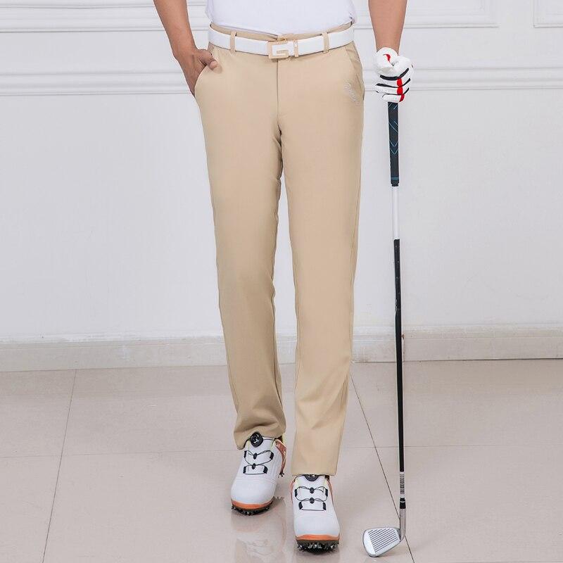 Nouveau 2019 pantalons de Golf hommes pantalons Sports de plein air vêtements de Golf été respirant mince de haute qualité 5 couleurs - 4