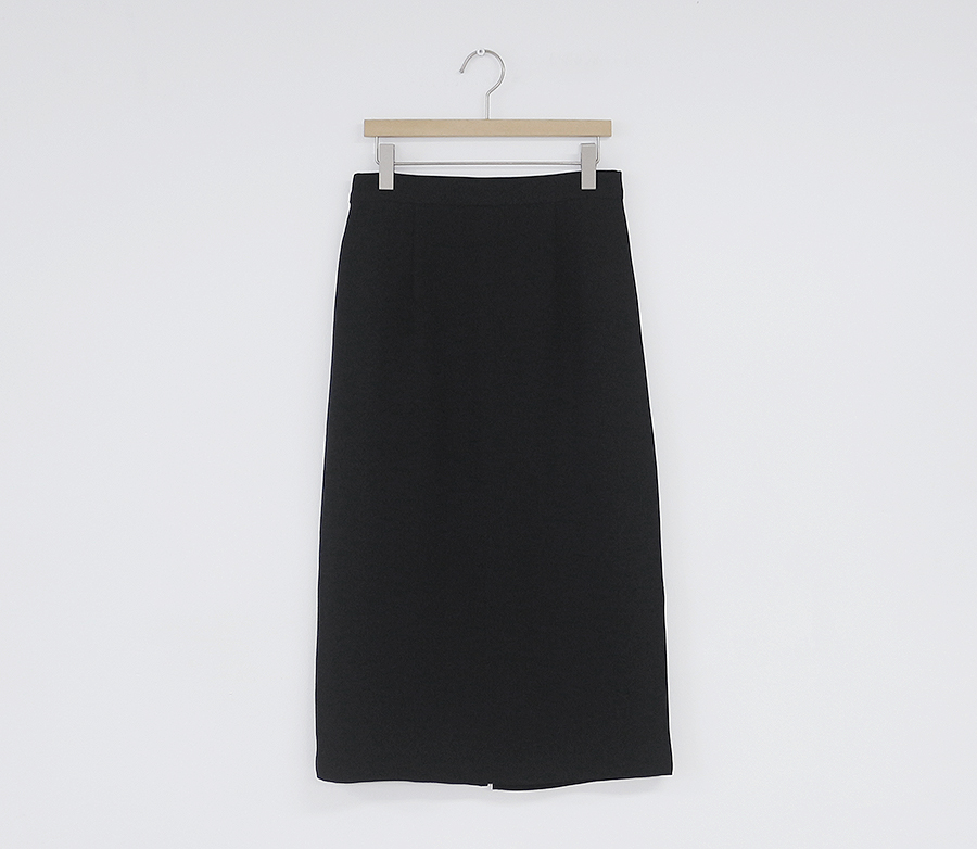 HTB1SaY4XxrvK1RjSszeq6yObFXaQ - Solid Black Brown Mid Calf Women Skirt Vintage Spring Summer Straight Skirt Long Office Lady High Waist Girls skirts Femininas
